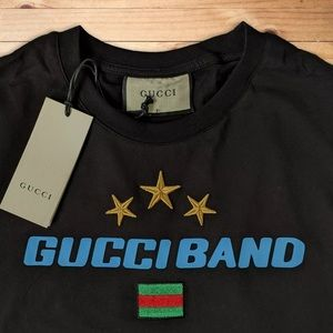 Gucci Band Black Tee!